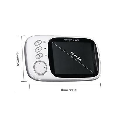 Baby 3.2inch LCD Display with Night Vision Temper