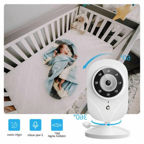 Baby Monitor DT24 Wireless 1000ft Security Camera Audio 2.4GHz | Refurbished