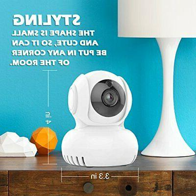 Baby Monitor, Wireless IP Enabled, 720P Home