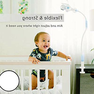 Rotatable Baby Monitor Holder Video Camera Mount Stand Cot C