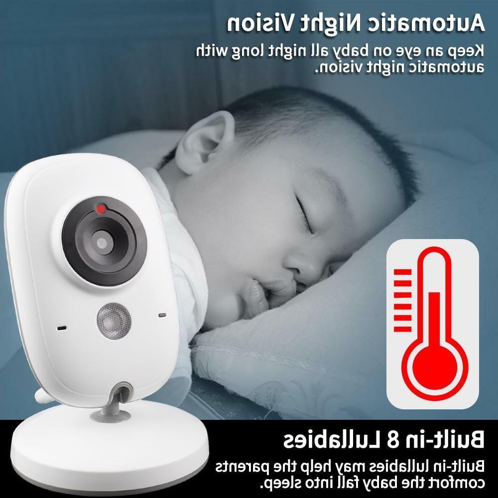 Baby Monitor Wireless Video Color Resolution Nanny