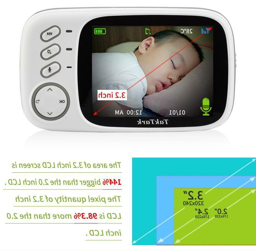 Baby Wireless Video Color High Baby Nanny Vision