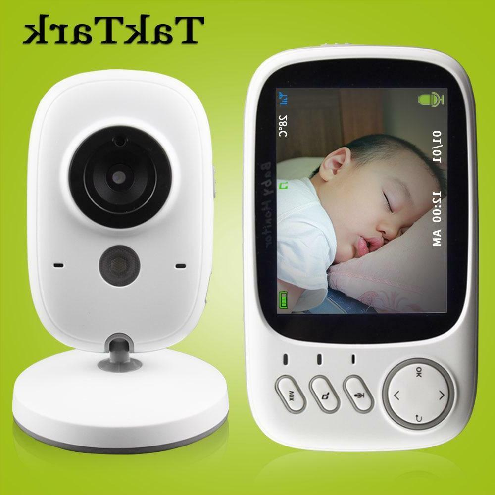 baby monitor wireless video color high resolution