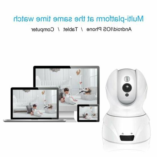 Baby Wireless WIFI HD 1080P Security Pan Tilt Video Vision