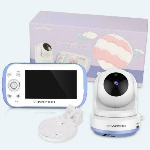 baby monitor with 4 3 split screen