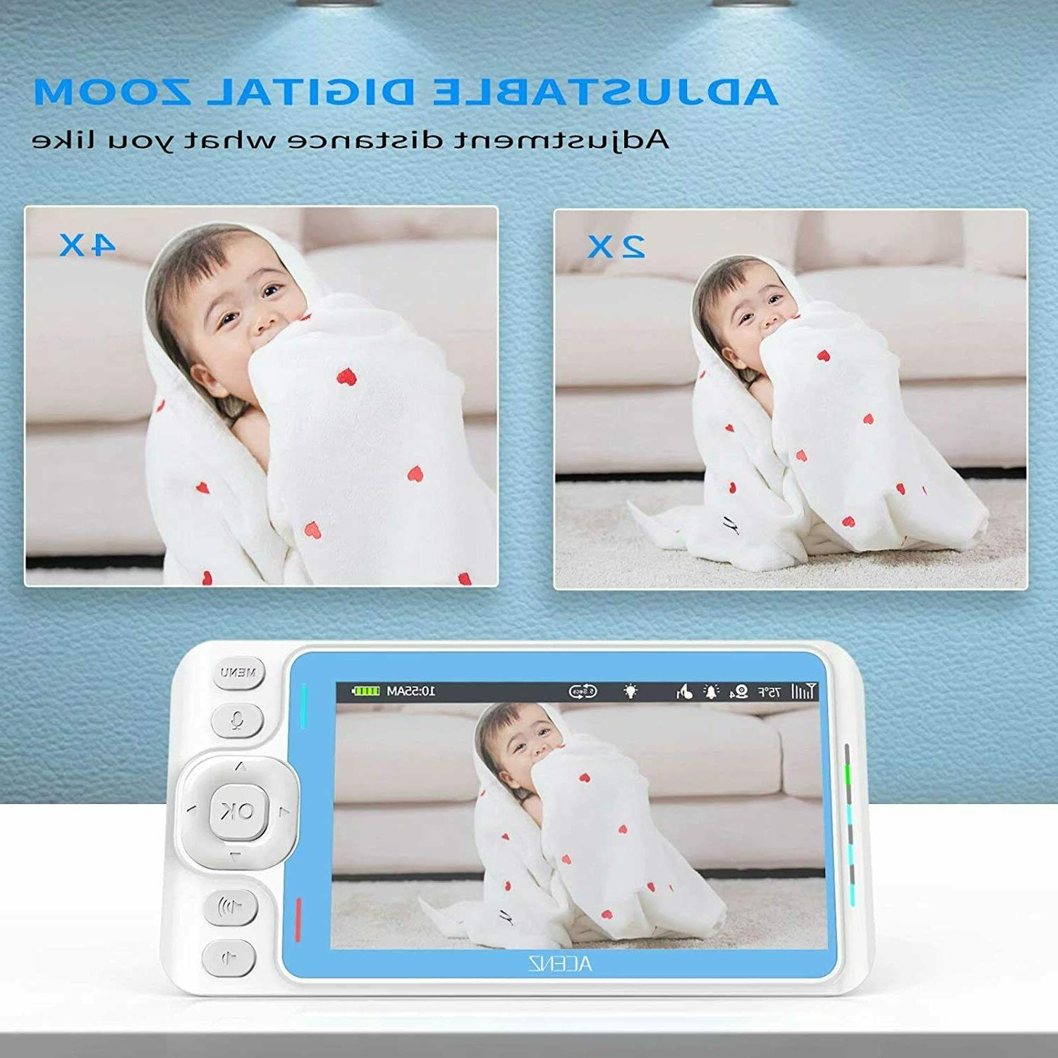 Baby with and Audio with 5 Display Two-Way