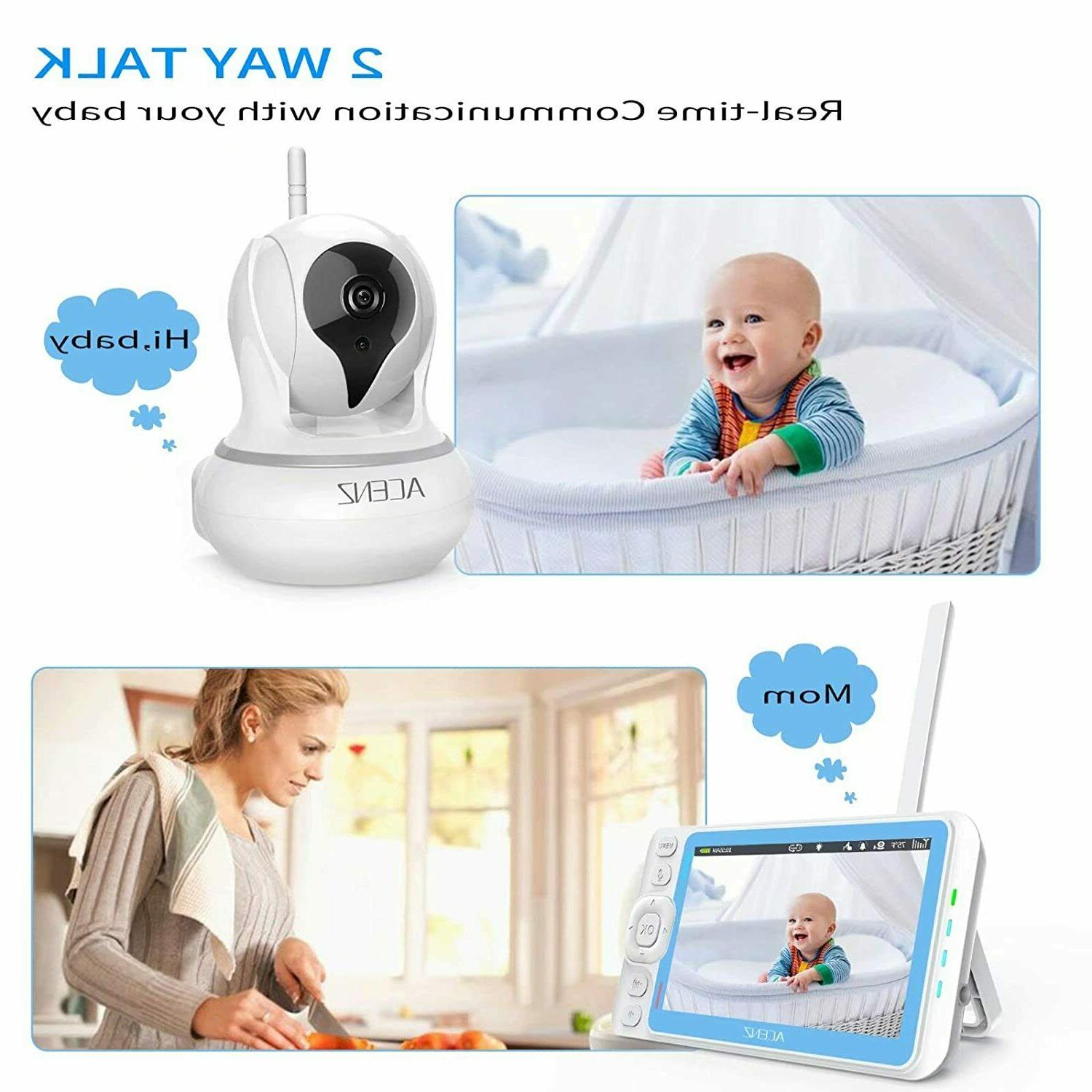 Baby and with 5 Display Two-Way Talk