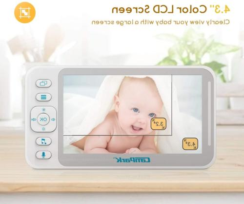 Baby and Audio, Campark Baby 4.3'' LCD Split