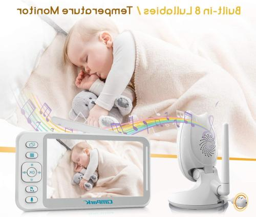 Baby Monitor and Video Baby Monitor 4.3'' Split 8