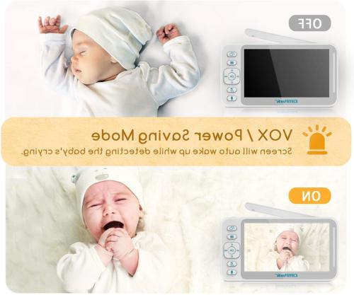 Baby Monitor and Campark Baby Monitor LCD Split 8