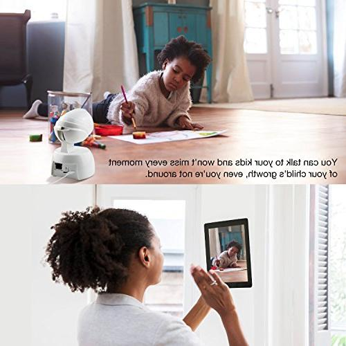 Video Baby Monitor, Conico 1080P Camera Cam Two Night Vision Motion Viewing for