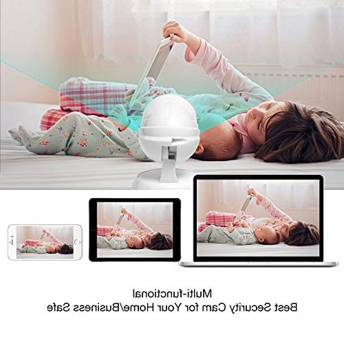 Camera Nanny with Two Way Audio Vision Detect Viewing Tilt Zoom for