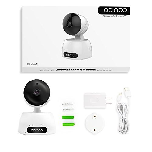 Video Baby Monitor, 1080P Camera Cam Two Audio Vision Motion Viewing Zoom for