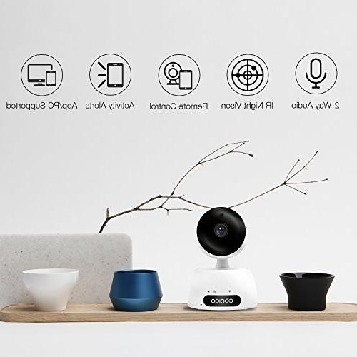 Video Baby 1080P Wireless Camera Two Way Vision Detect Viewing Tilt for iPhone and