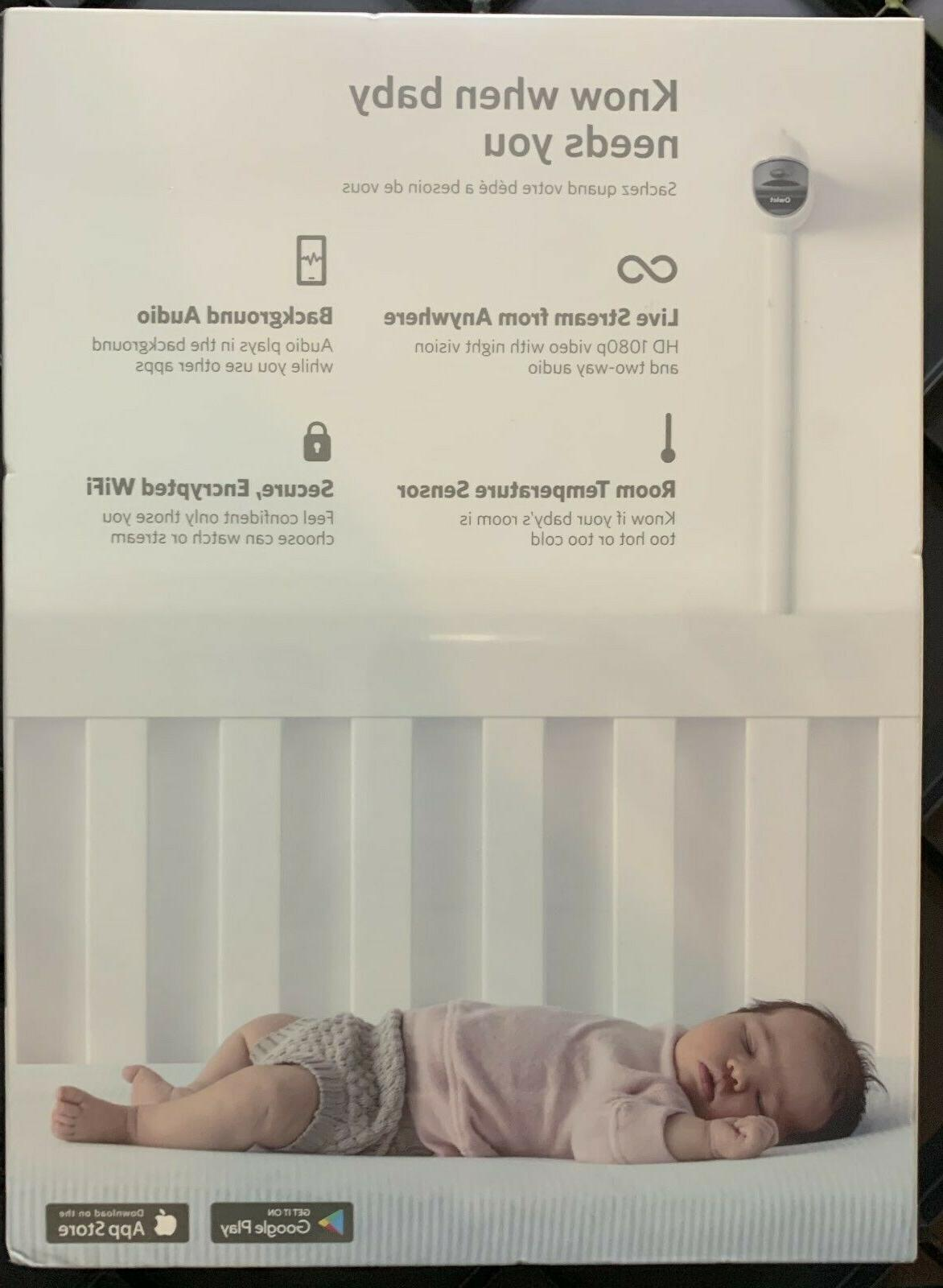 OWLET CAM Baby Monitor FACTORY FREE S/H