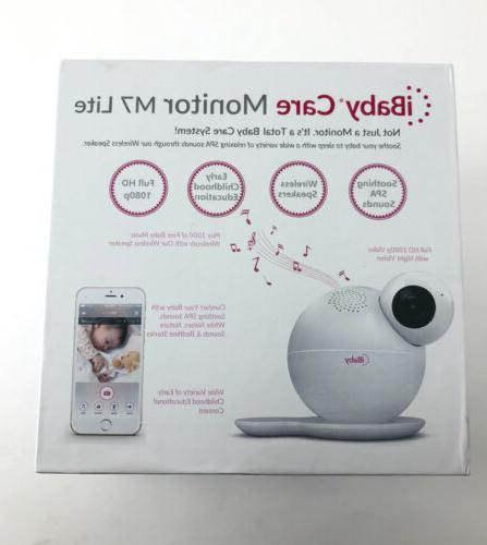iBaby Care M7 Lite 1080p Smart Wi-Fi Enabled Baby Monitor wi