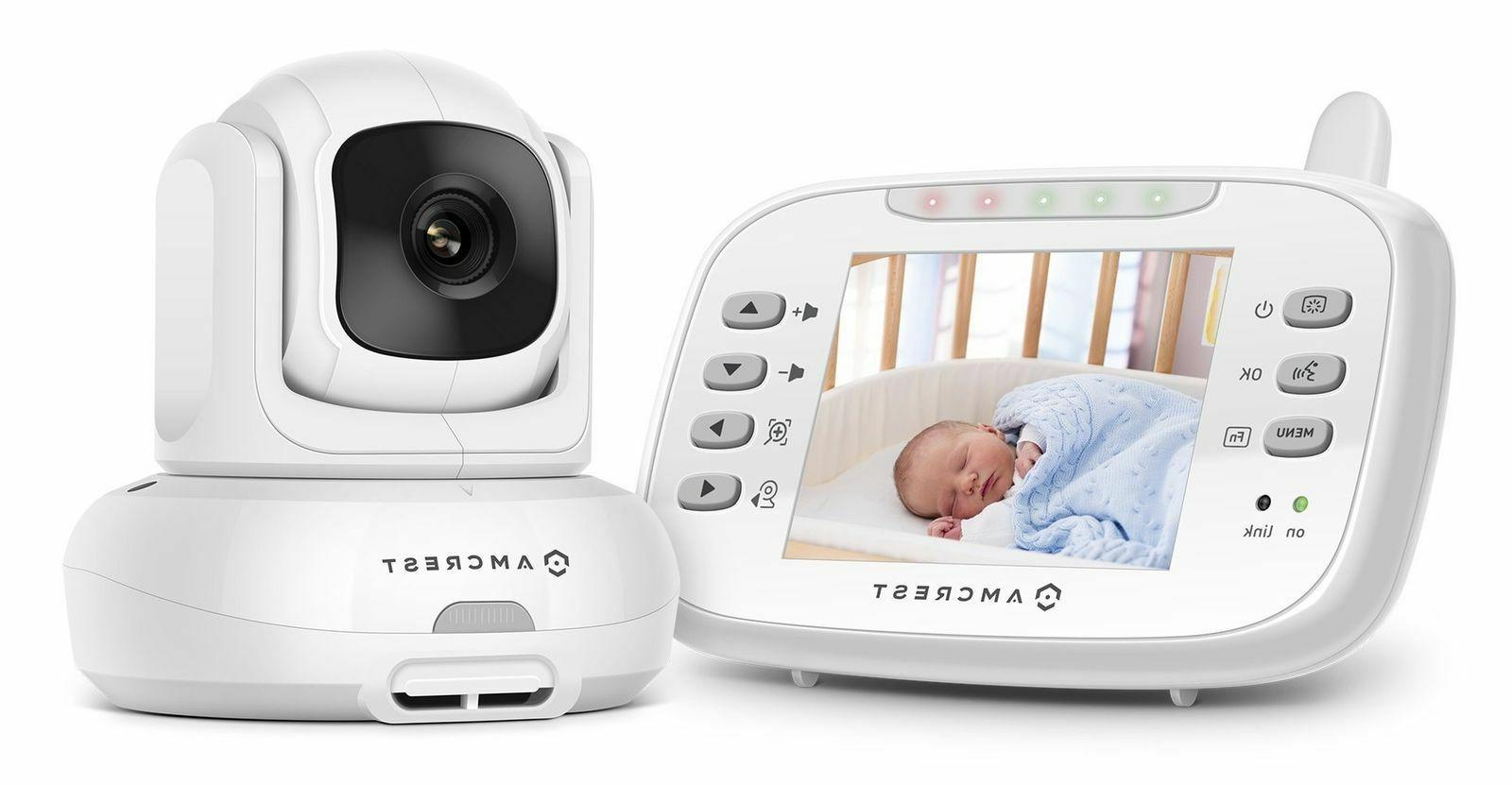 Amcrest Care Baby Monitor AC-1 Night Vision, Pan Tilt, Camer