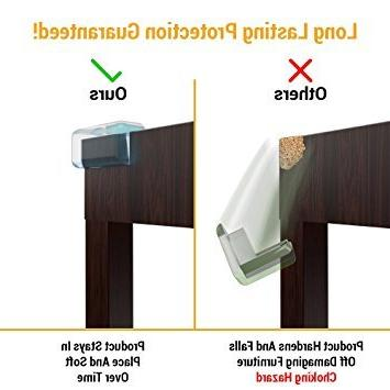 Skyla - Clear Corner Resistant Adhesive | Best Baby Proof Corner Guards | Head Tables, Furniture & Baby