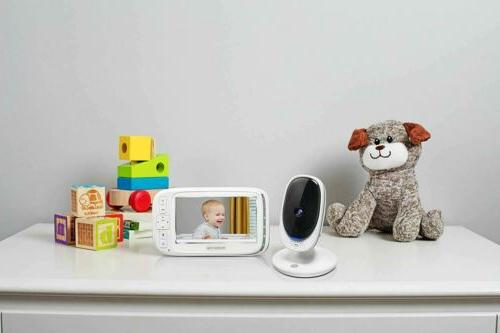 """Motorola Comfort 50 Baby Monitor with 5"""" Color Display Infrared"""