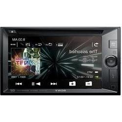 Double DIN monitor receiver Sony
