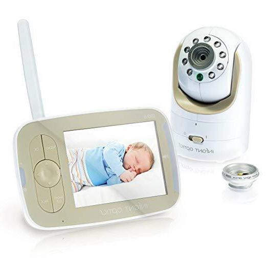 dxr 8 video baby monitor with interchangeable