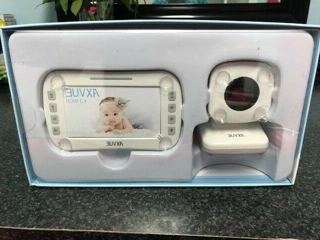 e610 video baby monitor with 4 3