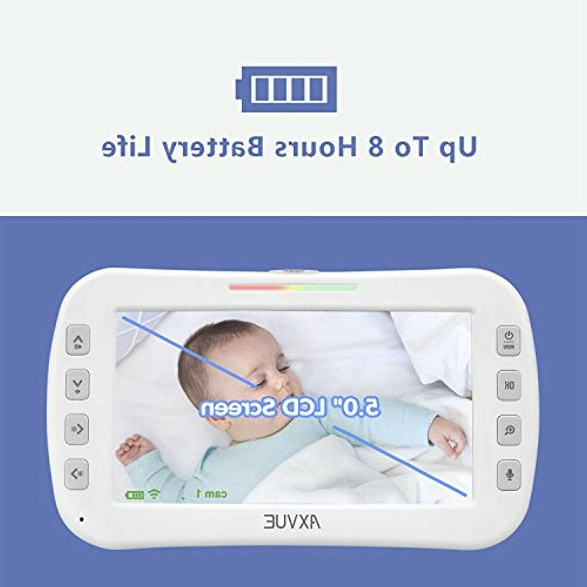 AXVUE Baby Monitor with and Vision,