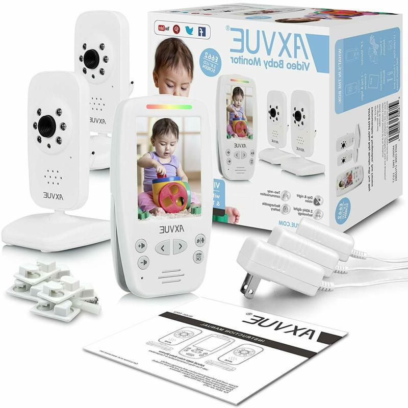 AXVUE E662 Baby Monitor and Vision,