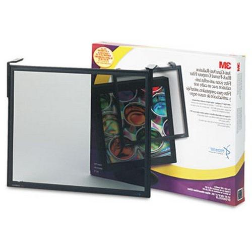 Executive Flat Frame Monitor Filter, 19 Inch-21 Inch CRT, Bl