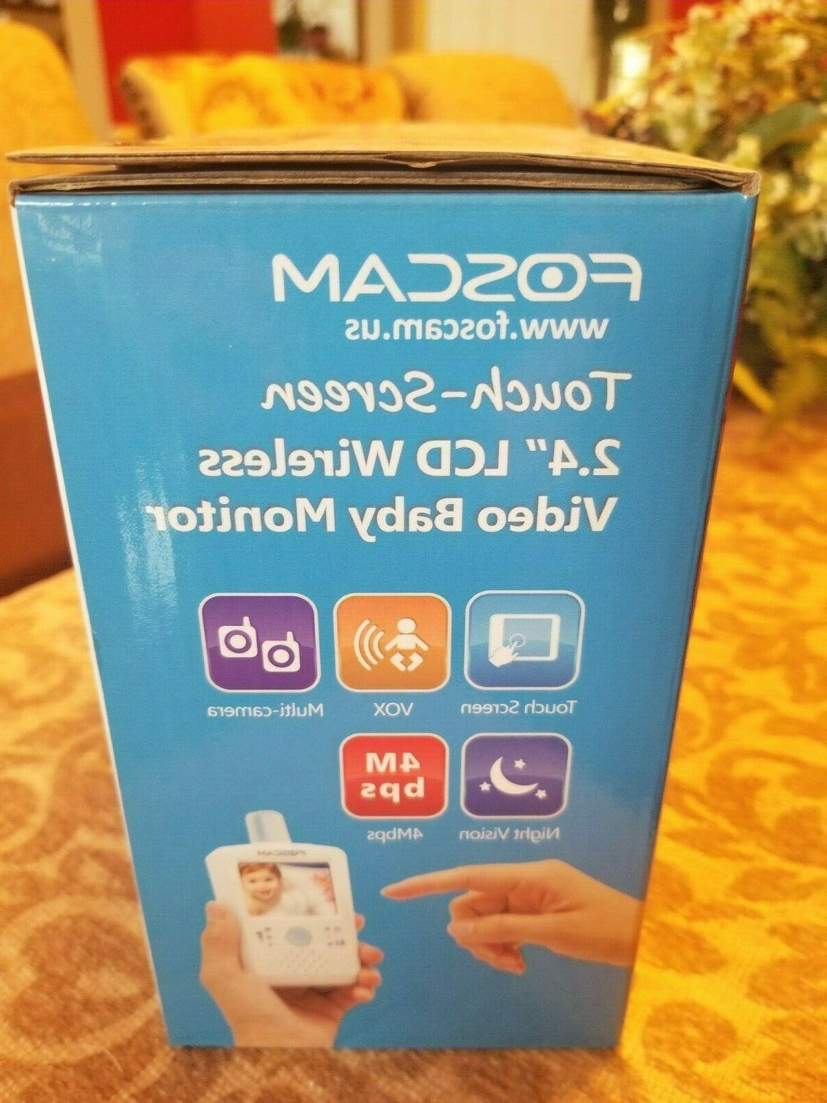 Foscam Video Baby Monitor w/ Bonus EU to US