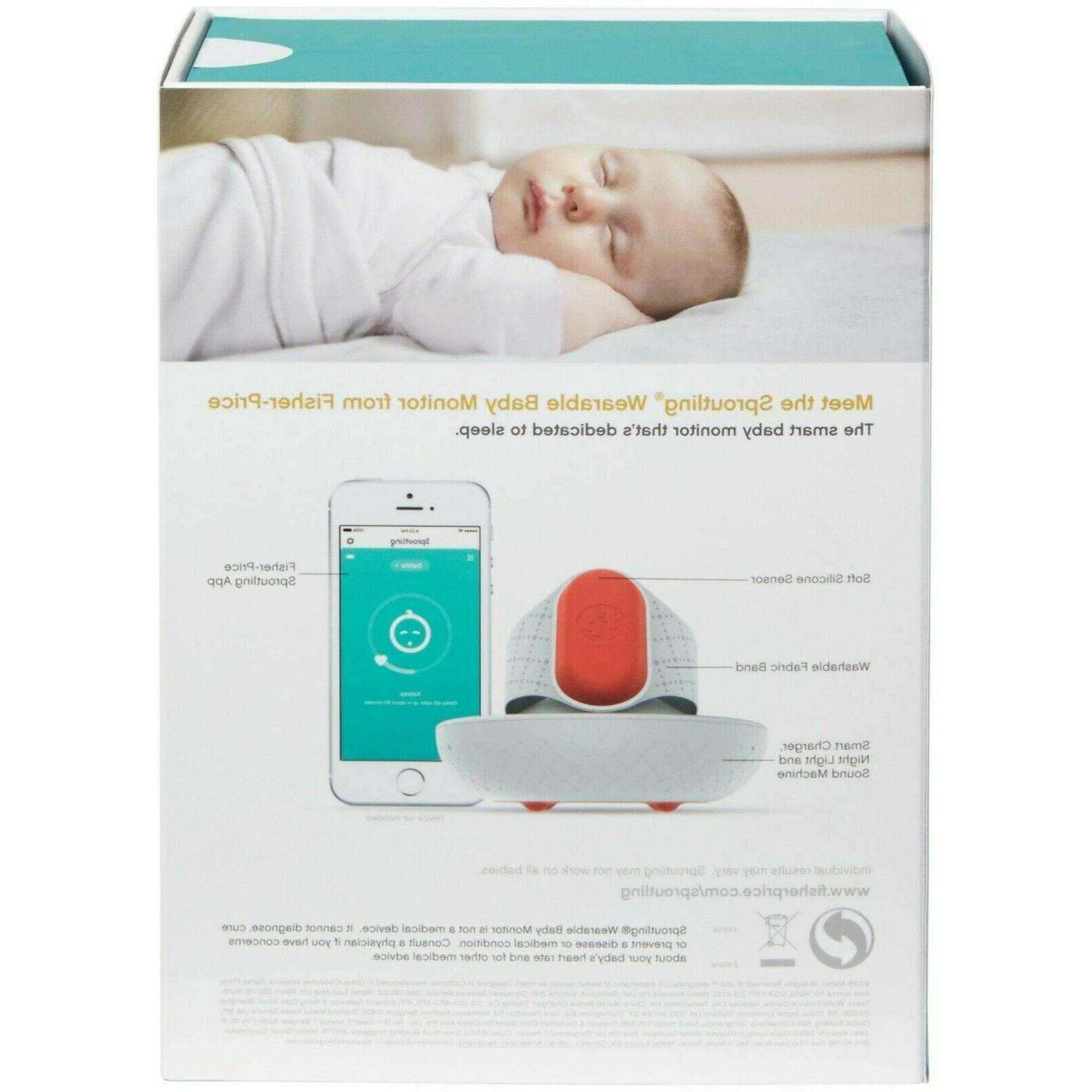 Fisher-Price Sproutling Wearable Baby Monitor -New!
