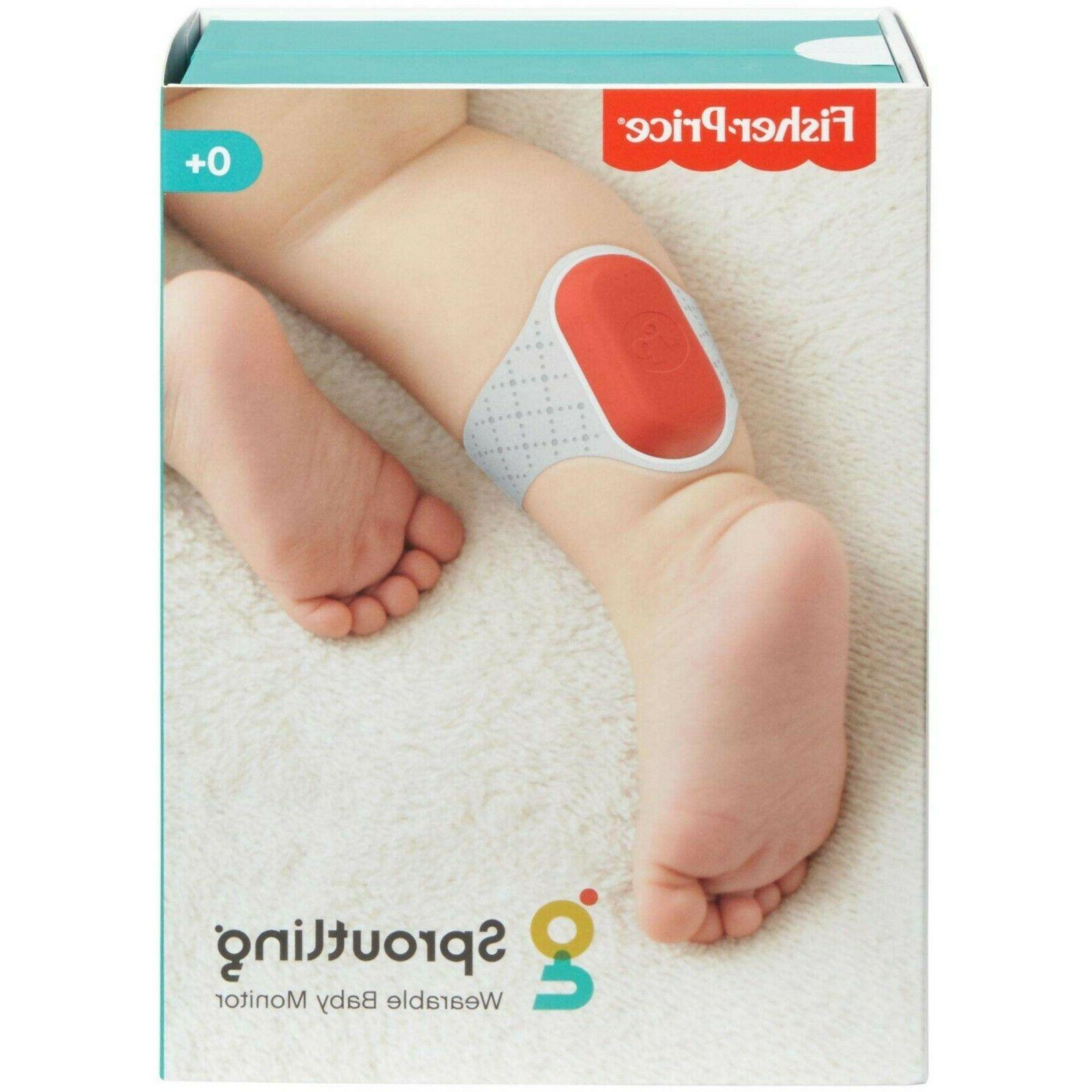 fisher price sproutling wearable baby monitor new