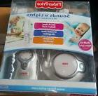 Fisher Price Sounds n' Lights Baby Monitor Nursery Unit dual