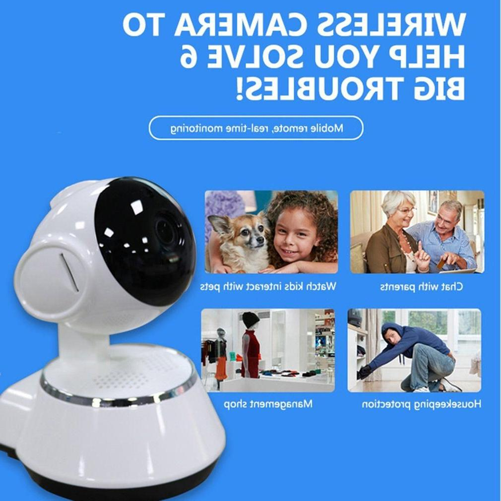 IP Camera Wireless Audio Video Record Home Security