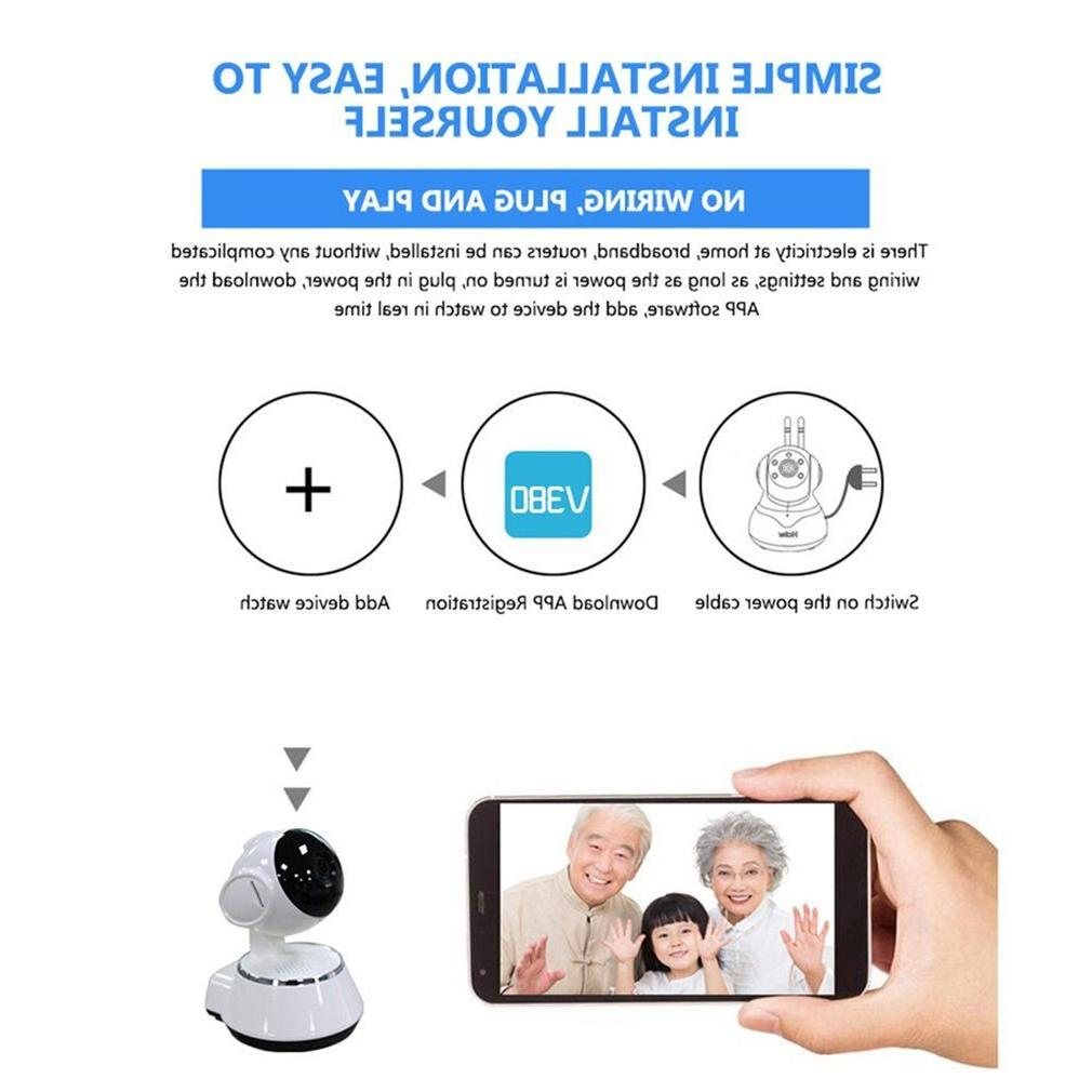<font><b>Baby</b></font> WiFi IP Wireless Smart Audio Video Home Security