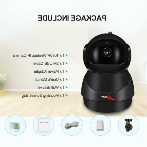 1080P Security Camera WiFi Monitor IPC Home System
