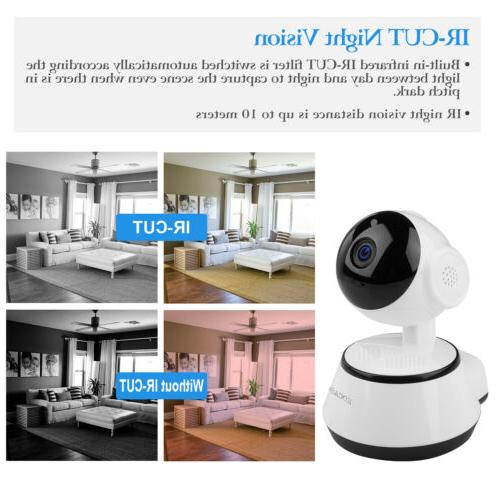 Outdoor WiFi Security IP Camera System PTZ 720P Night Vision
