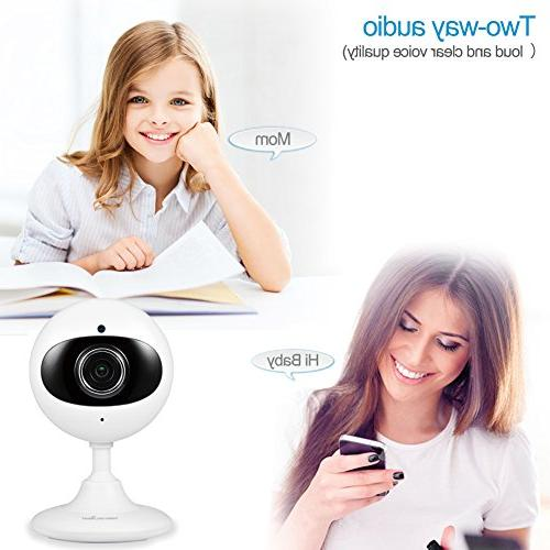 Wansview Home Security 720P WiFi Camera for Two-Way Vision Packs