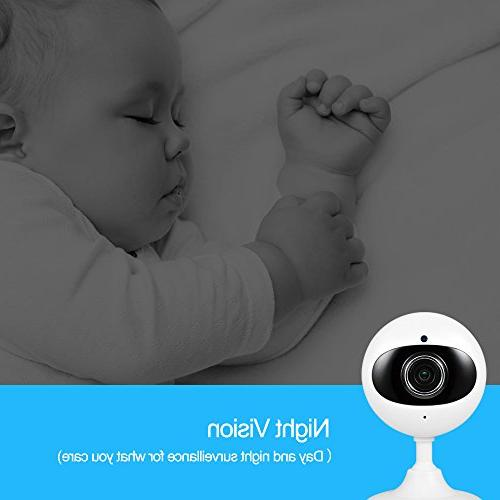 Wansview Security 720P Camera for Baby/Elder/Pet/Nanny Two-Way Audio Vision K2-2