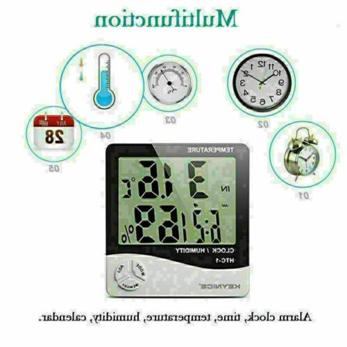 LCD Hygrometer Temperature Meter Kitchen US