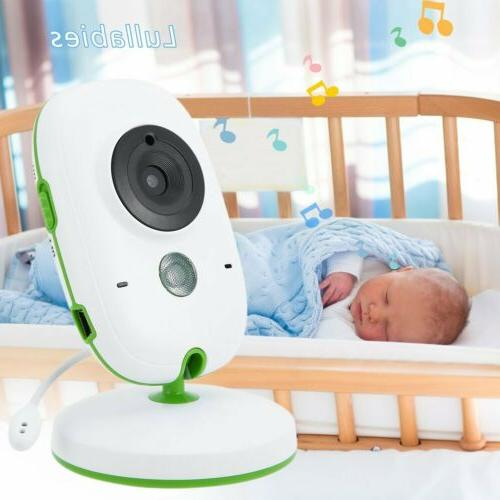 """2.0"""" LCD Wireless Baby Monitor System Camera & Video Child H"""
