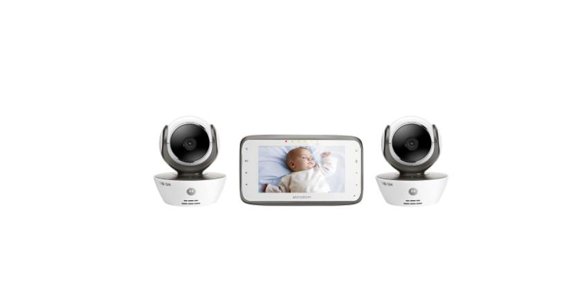 Motorola MBP854CONNECT-2 Dual Mode Baby Monitor with 2 Camer