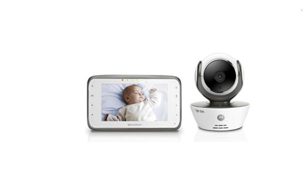 Motorola MBP854CONNECT Dual Mode Baby Monitor with 4.3-Inch