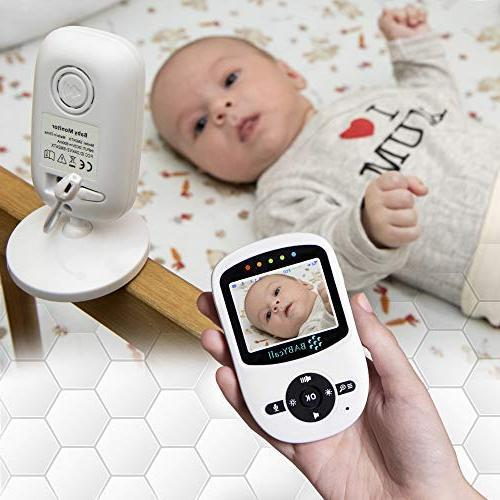 Video Baby Camera Model of with Night Way Temperature - Wireless Monitoring BABYcall