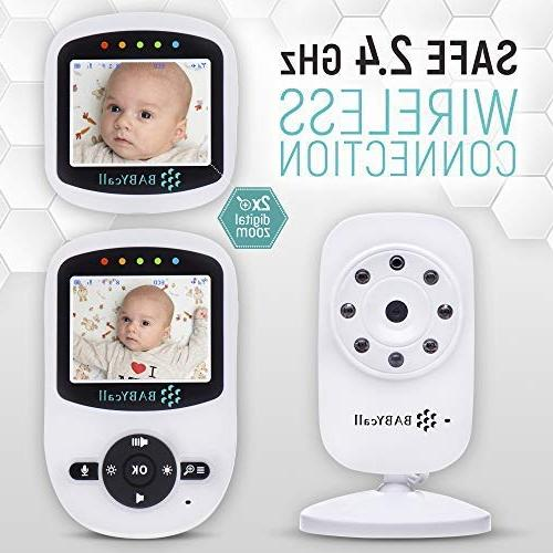 Video Monitor with Camera - 2019 Model of Monitoring with Vision, Way Audio, detectors - Range Monitoring by