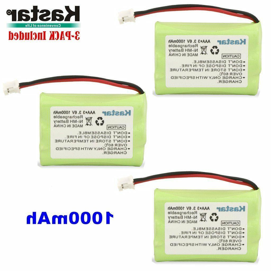 3 X Baby Monitor Battery For Motorola MBP33 36 and Graco iMo