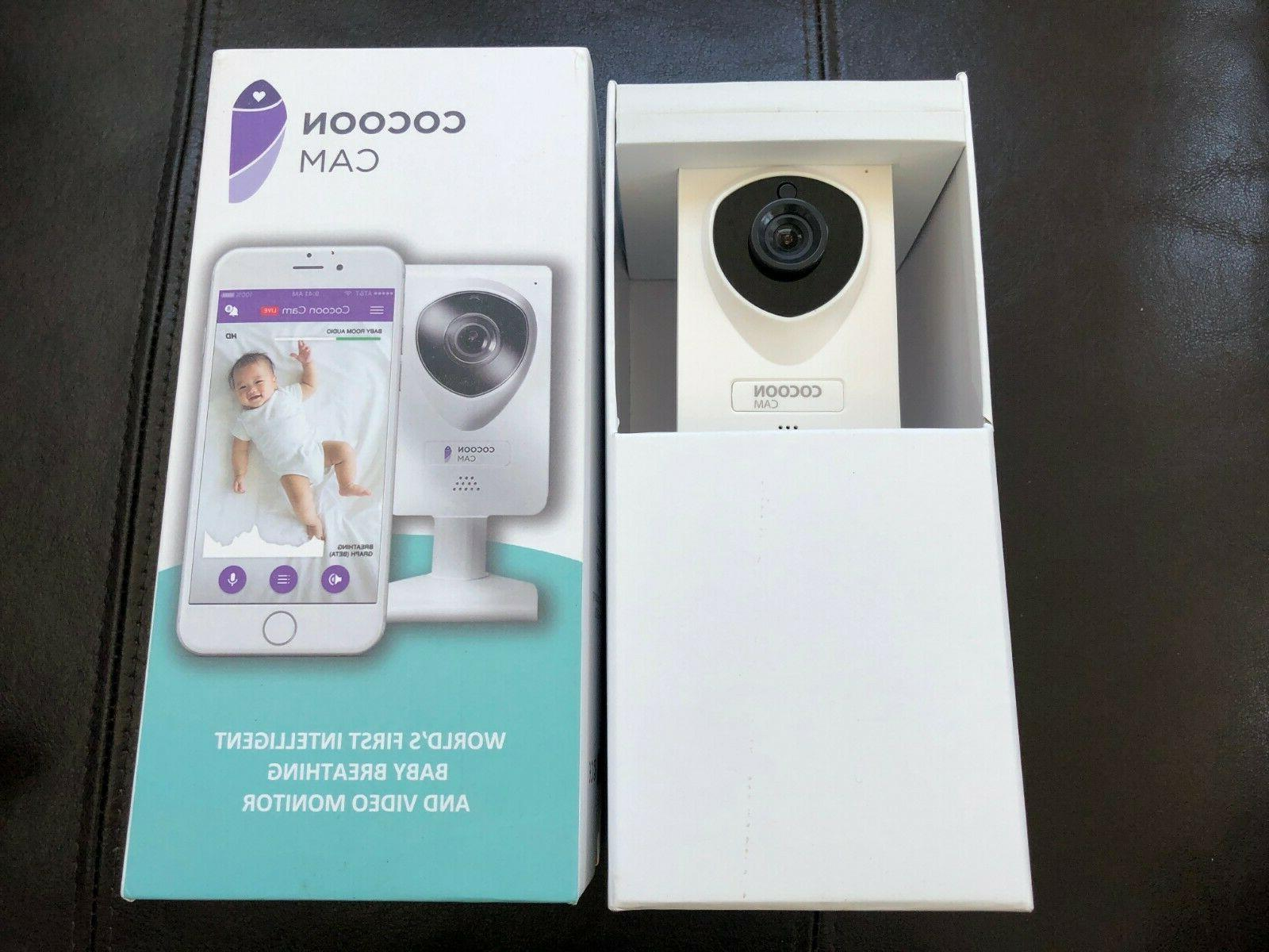 Cocoon Cam Baby Video Monitor with Breathing Detection, Real