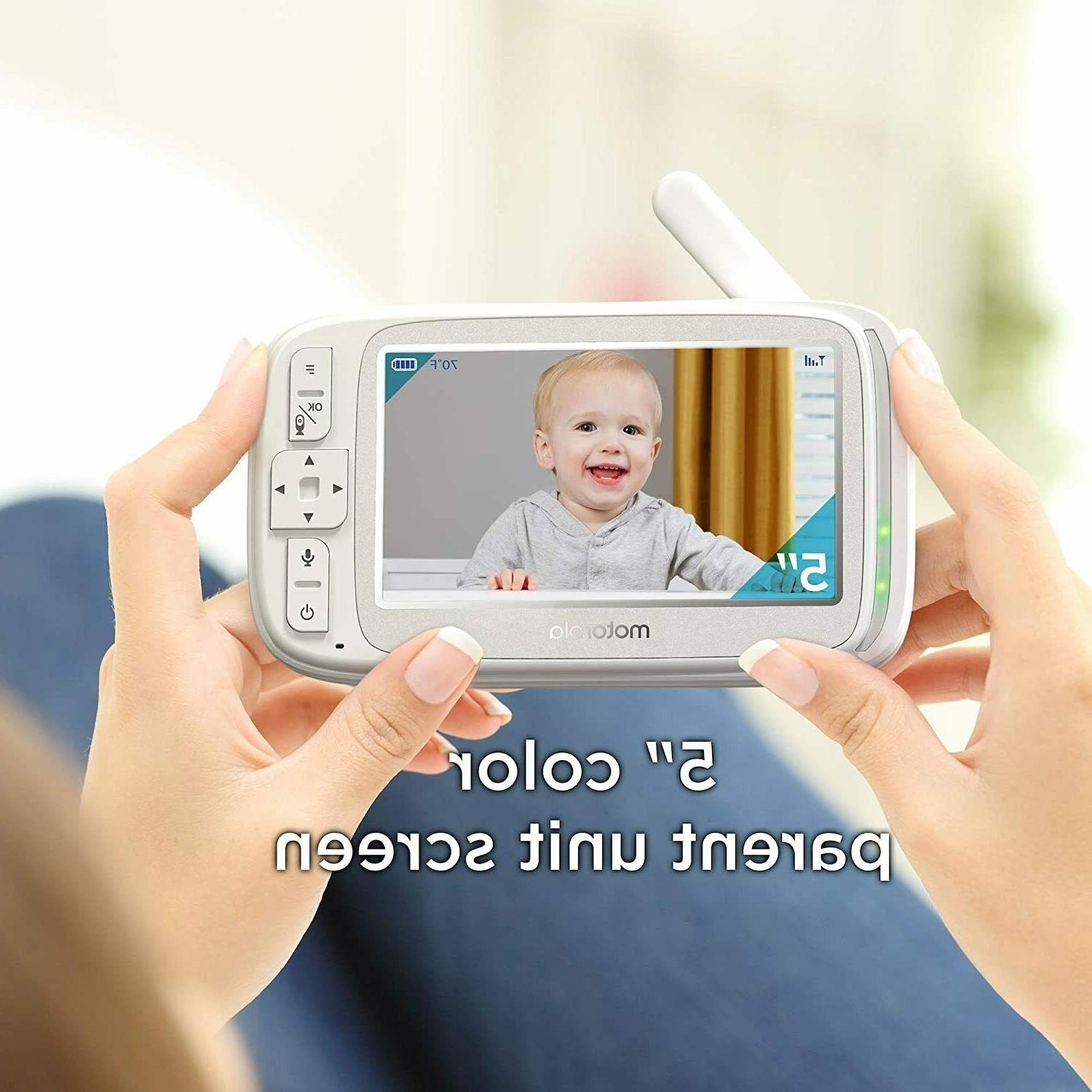 "Motorola Comfort 50 Video Baby Monitor with 5"" Color"