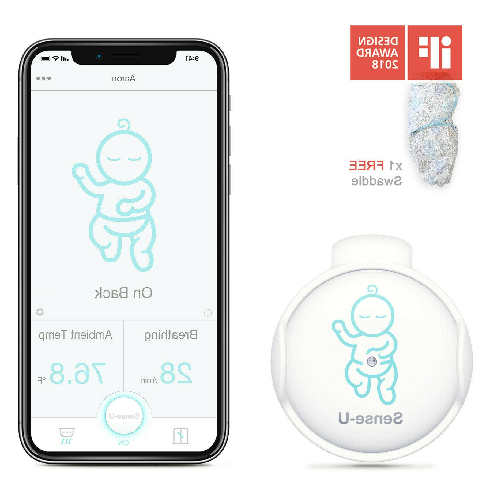 Sense-U Baby Breathing & Rollover Movement Monitor with a FR