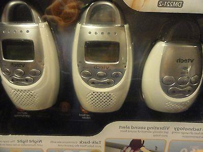 new VTech Safe & Sound Digital Audio Baby Monitor with 2 Par